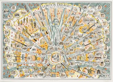 Adam Dant, 'London Enraged', 2016