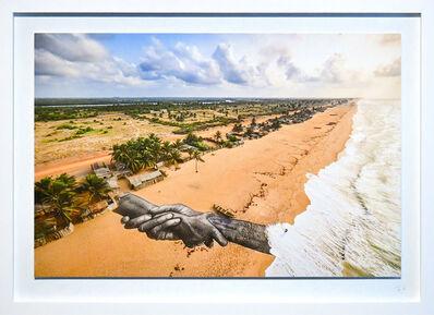 SAYPE, 'Beyond walls project, step 10 : Benin (Ouidah)', 2021