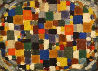 Jan Müller (1922-1958), 'Oval Mosaic [double-sided]', 1952