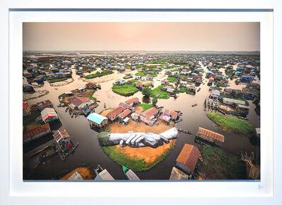 SAYPE, 'Beyond walls project, step 10 : Benin (Ganvié)', 2021