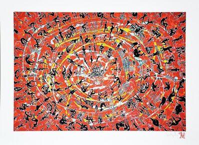 """Luis Miguel Valdes, '""""La larga marcha de la humanidad 2""""', 2015"""