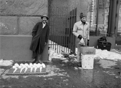 Dawoud Bey, 'David Hammons, Bliz-aard Ball Sale I', 1983