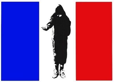 Blek le Rat, 'Homeless in Paris [AP]', 2007