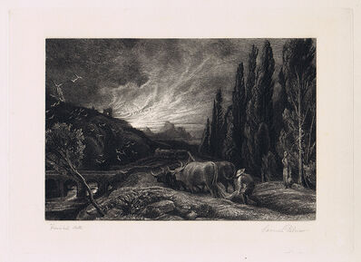 Samuel Palmer, 'The Early Ploughman', 1861