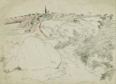 Lucien Pissarro, 'Paysage', ca. 1890