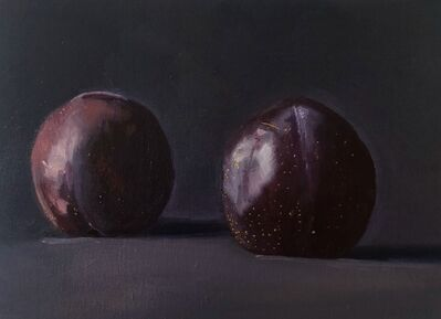 Dan McCleary, 'Two Dark Plums', 2020