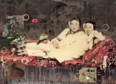 Hung Liu 刘虹, 'Yellow pair 20348', 2007