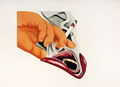 Tom Wesselmann, 'From Smoker #18', 1976