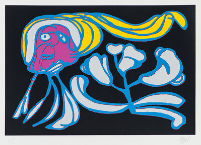 Karel Appel, 'Somber Floating Flower', 1978