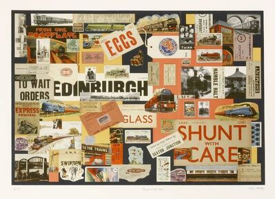 Peter Ashley, 'SHUNT WITH CARE'', 2010
