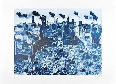 Günther Uecker, 'Die Kunst kann den Menschen nicht retten, aber mit den Mitteln der Kunst ist ein Dialog möglich', 1985