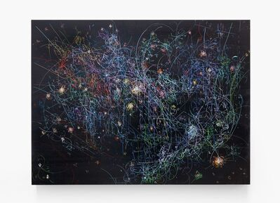 Kysa Johnson, 'Blow Up 284 - the long goodbye - subatomic decay patterns with the Orion Nebula', 2015