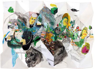 Marlise Keith, 'Moonlight Sleeping on a Midnight Lake', 2017