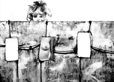 Sam Haskins, 'Kate Behind Jail Set', 1963