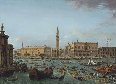 Antonio Joli, 'Procession of Gondolas in the Bacino di San Marco, Venice', 1742 or after
