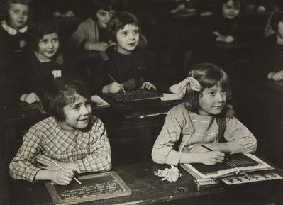 André Kertész, ' L'école des filles (Girls' School)', ca. 1933