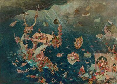 Oskar Laske, 'Noachian Flood', before 1925