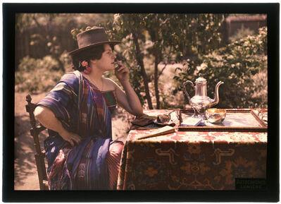 Jean-Baptiste Tournassoud, 'Woman Smoker at Coffee', 1907-1910