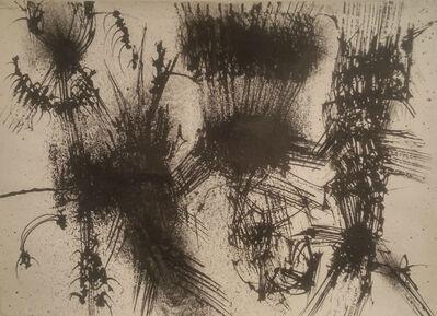 Emilio Scanavino, 'Strutture verticali', 1955
