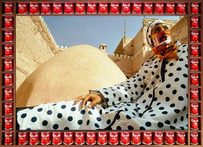 Hassan Hajjaj, 'DOTTED PEACE', 2000