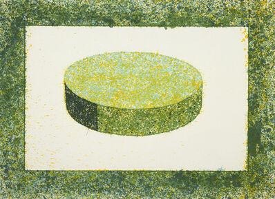 Ronald Davis, 'Green Disc', 1983
