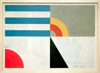 Evan Hecox, 'Four Corners Flag', 2016