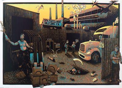 Derek Hibbs, 'All In A Days Work', 2019