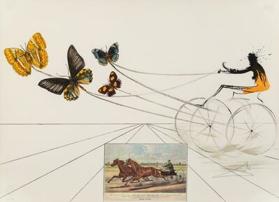 Salvador Dalí, 'American Trotting Horses No. 1, from Currier & Ives as Interpreted by Salvador Dali', 1971