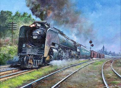 Tony Fachet, 'Central Train', 1988
