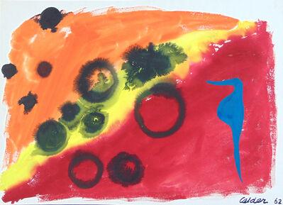 Alexander Calder, 'Seahorse', 1962