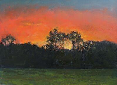 Albert Hadjiganev, 'Ciel rouge', 2021