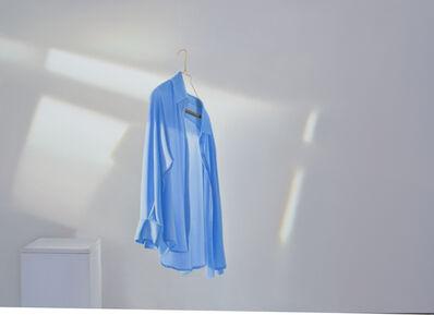 Edite Grinberga, 'Blaues Hemd mit Spiegelung II', 2016