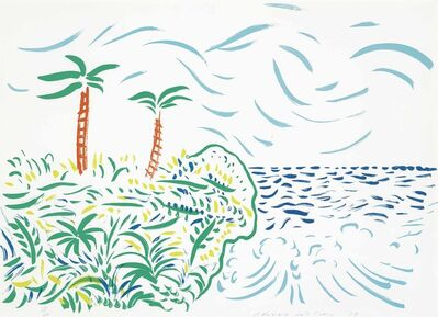 David Hockney, 'Bora Bora', 1979