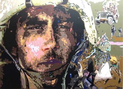 "Fawad Tamkanat, 'Soldier, Acrylic on Canvas by Contemporary Artist ""In Stock""', 2011"