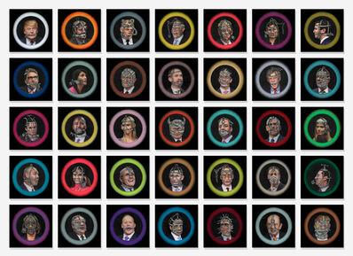 Pamela Joseph, 'Wall of Shame', 2017-2018