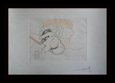 Salvador Dalí, 'Le Repos du Guerrier', 1969