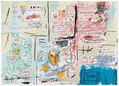 Jean-Michel Basquiat, 'Olympic'