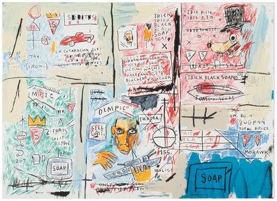 Jean-Michel Basquiat, 'Olympic'