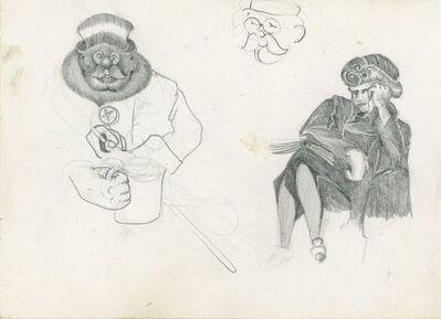 Michael Andrews, 'Character Studies', ca. 1946