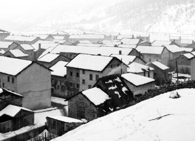 Elio Ciol, 'Disgelo a Cimolais', 1958