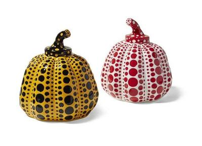 Yayoi Kusama, 'Pumpkins (Yellow|Black and Red|White)', 2016