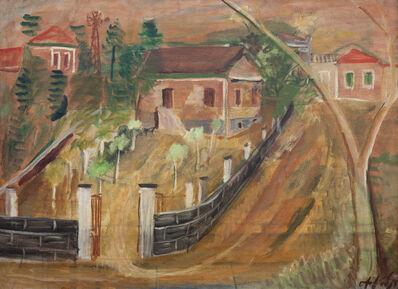 Alfredo Volpi, 'Casario - Mogi das Cruzes', 1930