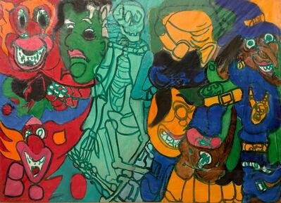 Grace Hartigan, 'Halloween Painting', 1977