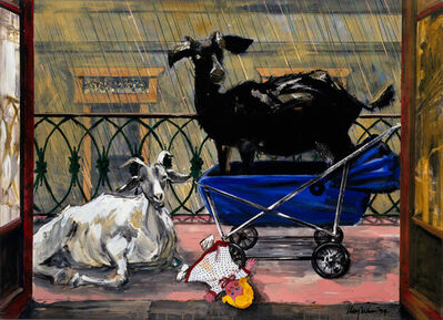 Gordon Rayner, 'The Baby Sitters', 1994