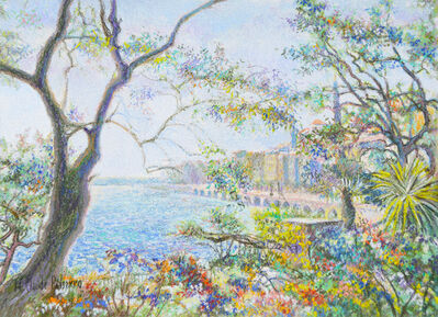 Hugues Claude Pissarro, 'Terrasse à Menton ', ca. 1999