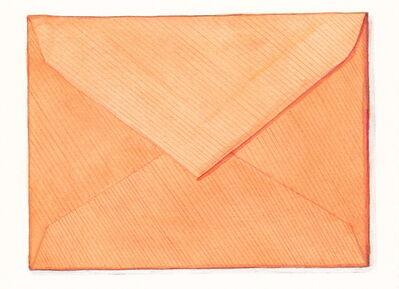 Margot Glass, 'Orange Envelope', 2016