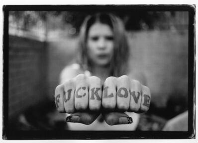 Estevan Oriol, 'Fuck Love, Circa 1995', 2019