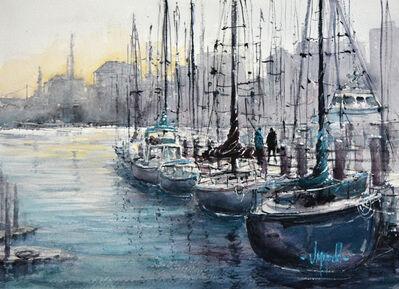 Judy Mudd, 'Marina Morning', 2018