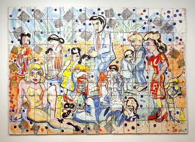 Viola Frey, 'Tile Wall ', 1999