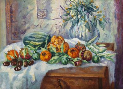 Henri Manguin, 'Nature morte à la cruche et melon', ca. 1945